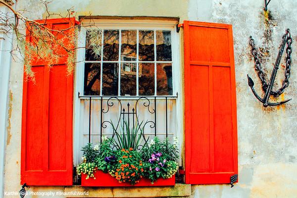 Window, Charleston Historic District, Charleston, South Carolina