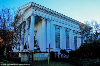 Hibernian Society Hall, c.1840, 105 Meeting Street, Charleston, South Carolina