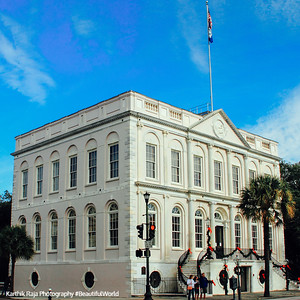 City Hall, c. 1800, 80 Broad Street, Charleston, South Carolina