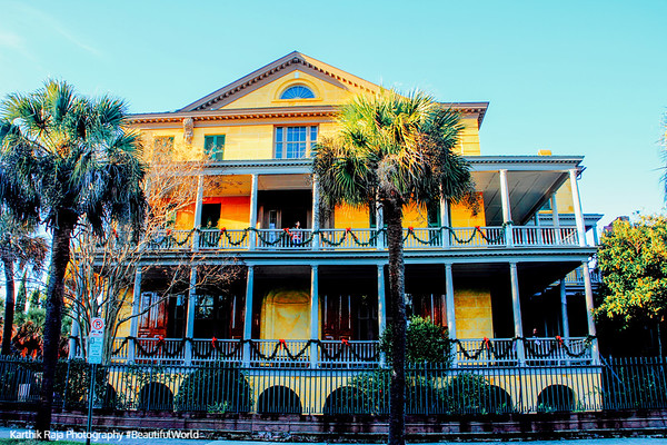 Aiken-Rhett House, c. 1820, Charleston, South Carolina