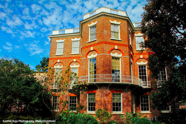 Nathaniel Russell House, 1808, National Historic Landmark, Charleston, South Carolina