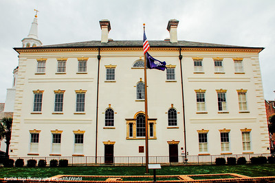 Charleston County Court House, c.1792, 84 Broad Street, Charleston, South Carolina