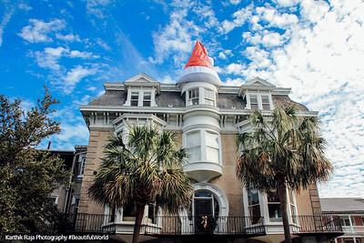 Merry Christmas, Historic Charleston District, Charleston, South Carolina