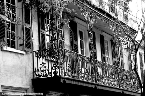 The Dock Street Theatre, c.1805, Wrought Iron work, 135 Church Street, Charleston, South Carolina
