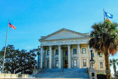 U.S. Customs House, c.1879, 200 East Bay Street, Charleston, South Carolina