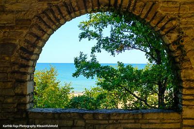 Glencoe Beach, Lake Michigan