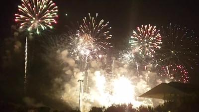 Arlington Park July 4th Hometown Fest Fireworks 2019 video