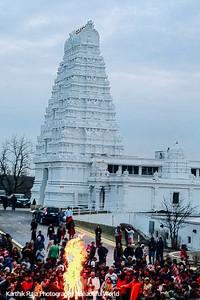 Lemont Temple, Hindu Mandir, Illinois