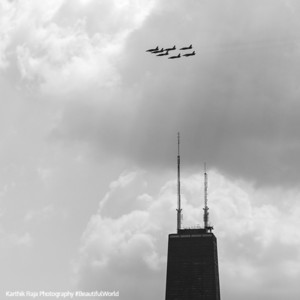 Air and Water show 2015 - Breitling Jet Team, Chicago