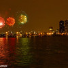 Fireworks, Skyline, Chicago