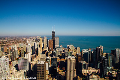 City View from Aon Center, Chicago