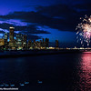 Fireworks, Skyline, Venice Night, Chicago