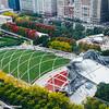 Millennium Park, Pritzker Pavilion, Chicago, Illinois