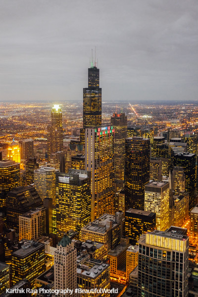 Chicago, View from Aon Center