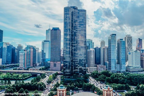 Skyline, Chicago , Illinois