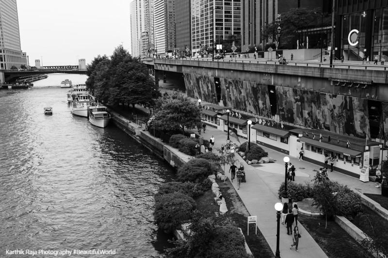 Riverwalk, Chicago, Illinois