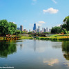 Reflection, Skyline, Lincoln Park, Chicago