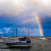 Rainbow in Lake Michigan, Chicago