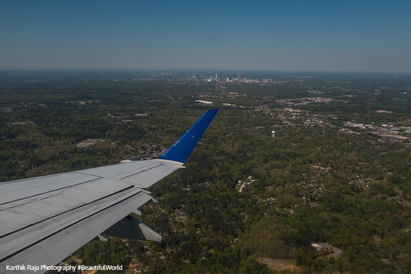 Atlanta Georgia from the skies