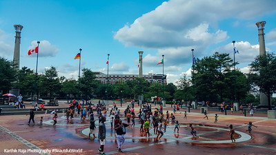 Fountain of Rings, Olympic Centennial Park, Atlanta, Georgia