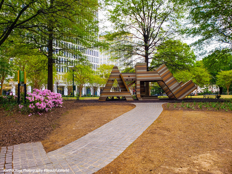 Woodruff Park, Atlanta, Georgia