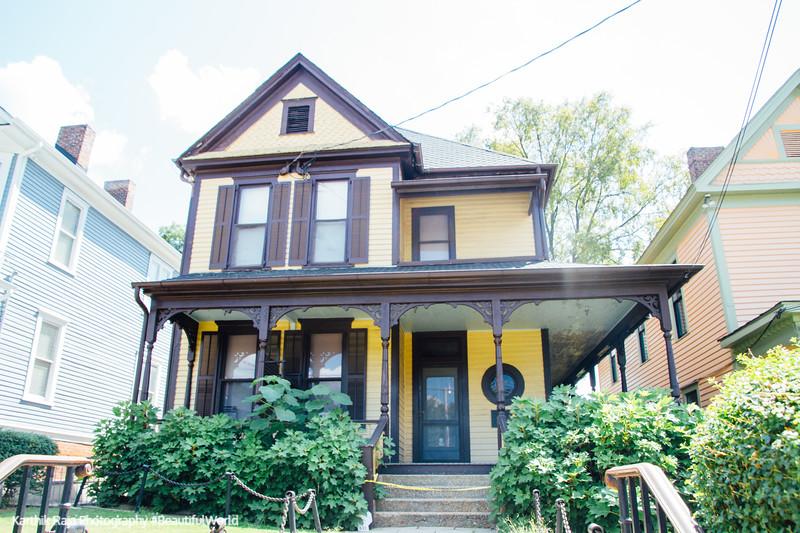 Martin Luther King's boyhood home, Atlanta, Georgia