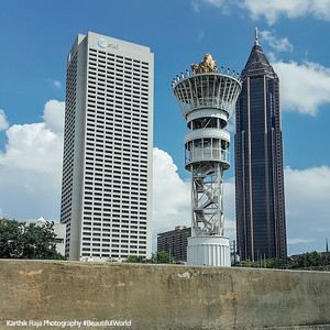 Olympic Tower, Flame, Atlanta, Georgia