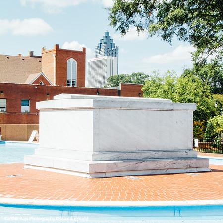 Tomb, Martin Luther King Jr. National Park, Atlanta, Georgia