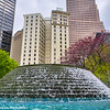 International Peace Fountain, Woodruff Park, Atlanta, Georgia