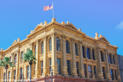 Historic Building on The Strand, Galveston, TX