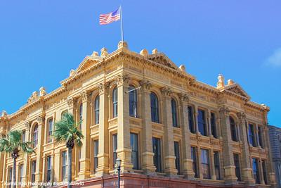 Historic Building on The Strand, Galveston, TX
