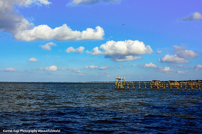 Kemah Boardwalk, Gulf of Mexico, Texas
