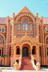 UTMB, University of Texas Medical Building, Galveston, Texas
