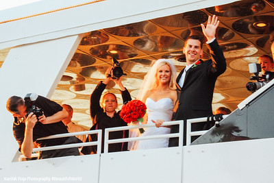 Wedding, Kemah Boardwalk, Gulf of Mexico, Texas