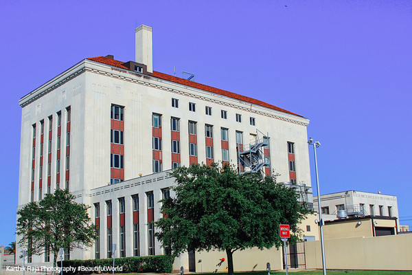 UTMB, University of Texas Medical Building, Galveston, Texas