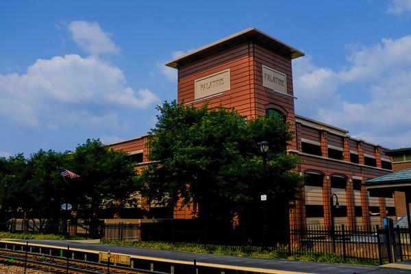 Palatine Metra Station