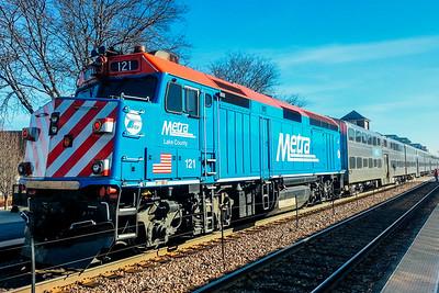 Metra, Train, Chicago