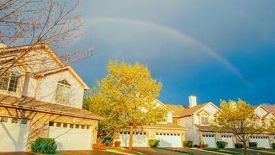 Rainbow, Palatine, Spring 2015, Chicago