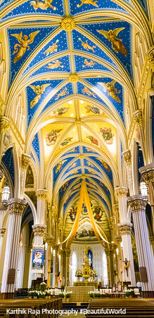 Basilica of the Sacred Heart, Notre Dame University, South Bend, Indiana