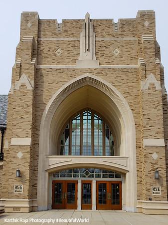 Eck Hall, Notre Dame University, South Bend, Indiana