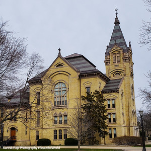 Washington Hall, Notre Dame University, South Bend, Indiana