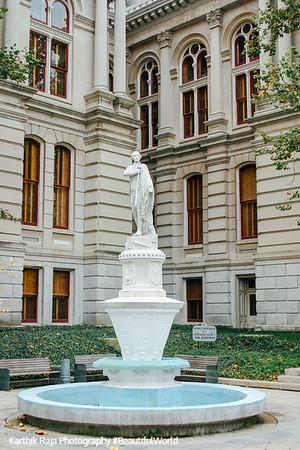 Tippecanoe County Courthouse, Lafayette, Indiana