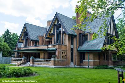 Moore-Dugal Residence, Frank Lloyd Wright, Oak Park, IL