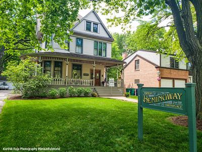 Ernest Hemingway Birthplace Home, Oak Park, Illinois