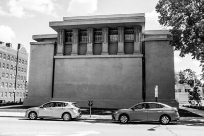 Unity Temple, Frank Lloyd Wright, Oak Park, IL