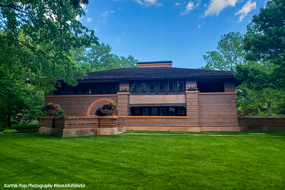 Arthur B. Heurtley House - Frank Lloyd Wright, Oak Park, Illinois