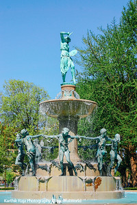 University Park - Depew Fountain by Karl Bitter, Indianapolis