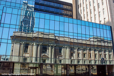 Birch Bayh Federal Building and United States Courthouse, Indianapolis, Reflection