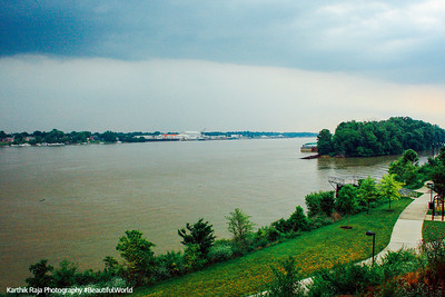 Ohio River, Towhead Island, Louisville, Kentucky