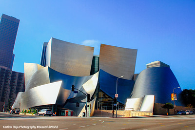 Walt Disney Concert Hall, Los Angeles - Frank Gehry architect